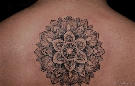 tattoo at back design mandala tattoos tattoo designs tattoo pictures page 21