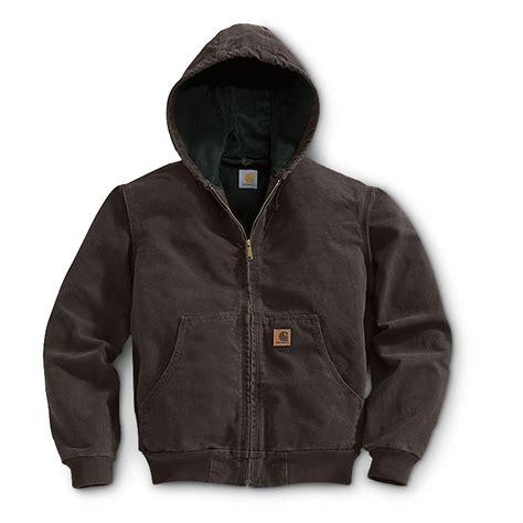Jaket Reg regular carhartt 174 thermal lined sandstone active jacket 108340 insulated jackets coats at