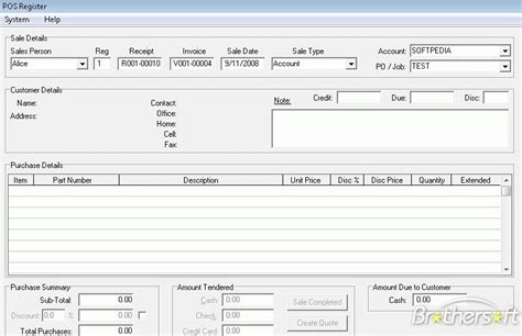 point of sale business application accounting application which helps you run your retail