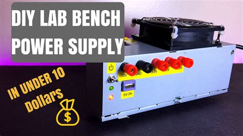 atx bench power supply diy diy lab bench power supply computer atx power supply