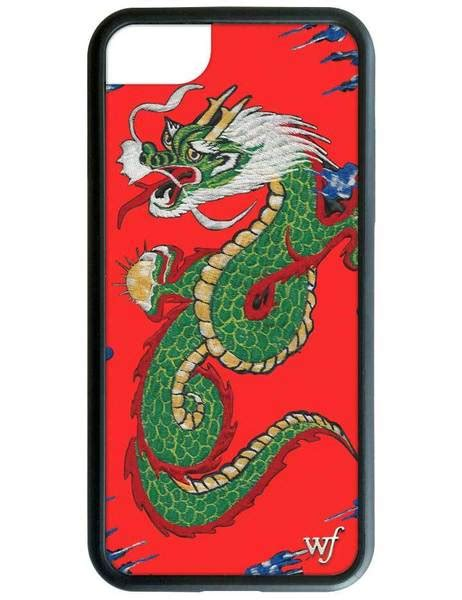 red dragon iphone  case wildflower cases