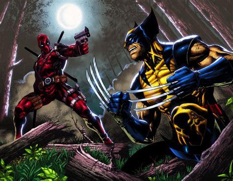 imagenes de wolverine vs deadpool deadpool vs wolverine wallpapers comics hq deadpool vs
