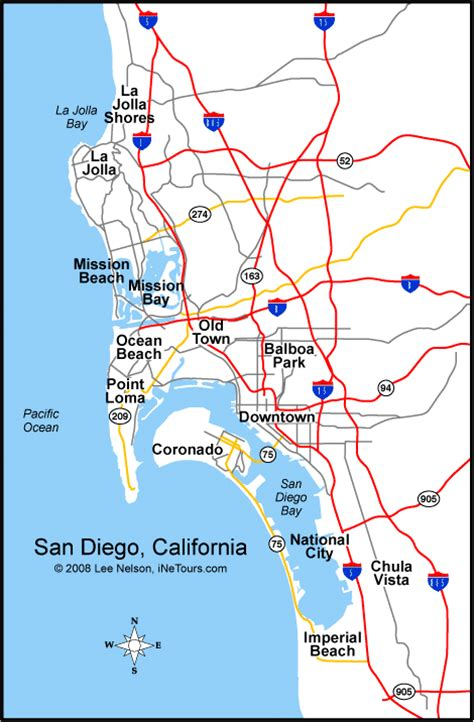 map of san diego ca california map san diego california map