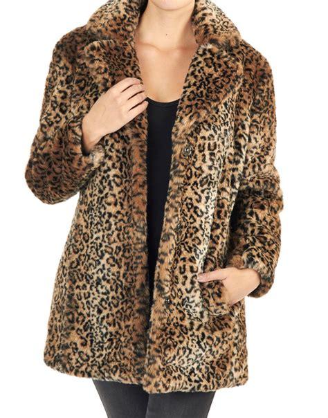 Brown Fur Rug by Giacomo Jas Panther Fake Fur Brown