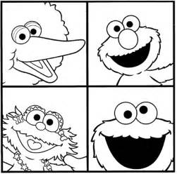 sesame street coloring pages minister coloring