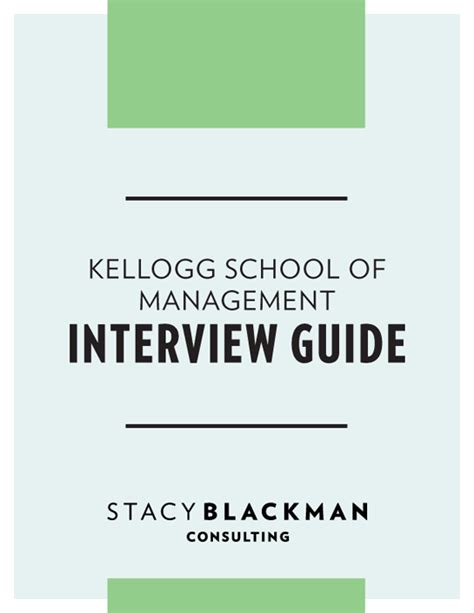 Kellogg Mba by Kellogg School Of Management Guide