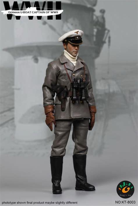 u boat captain figurine 1 6 german u boat captain machinegun fr