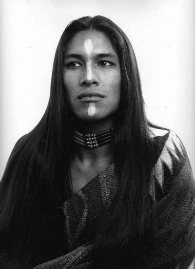 native american men with long hair rapunzel s daughters spitblood a young rick mora
