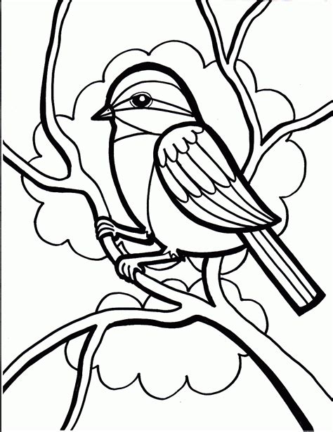 Coloring Pages Of A Bird Bird Coloring Pages Coloring Pages To Print by Coloring Pages Of A Bird