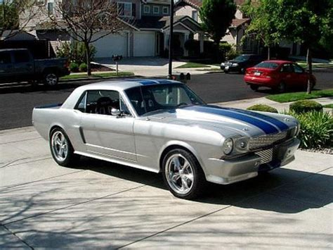 Po Custom Silver Stripped For Iphonesamsungoppoasuslgbb Dll 1965 Mustang Coupe Custom Restomod For Sale Silver