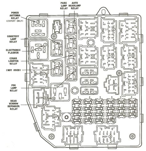 wiring diagram 1998 jeep grand laredo fuse box