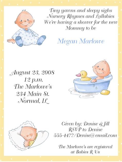 baby shower invitation templates for boys baby shower invitation wording for boys template best