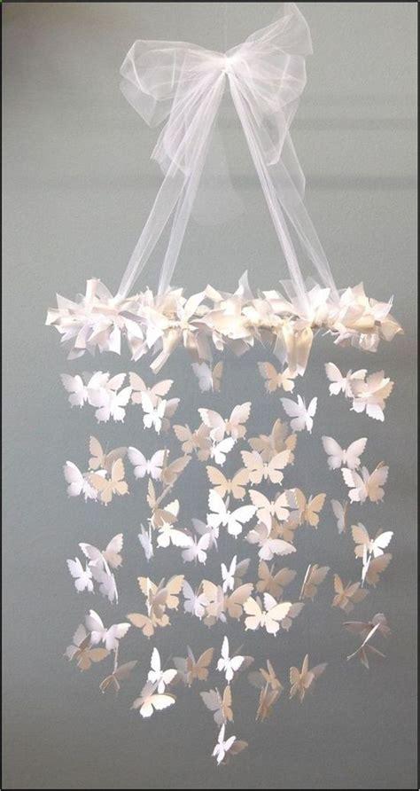 Handmade Paper Chandelier - handmade butterfly chandelier http in the corner