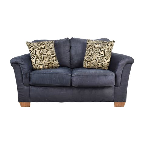 ashley furniture blue sofa 57 off signature design by ashley signature design by