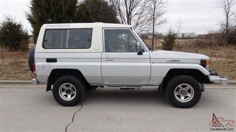 1986 Toyota Land Cruiser 1986 Toyota Land Cruiser Bj74 Lx Turbo Diesel Auto