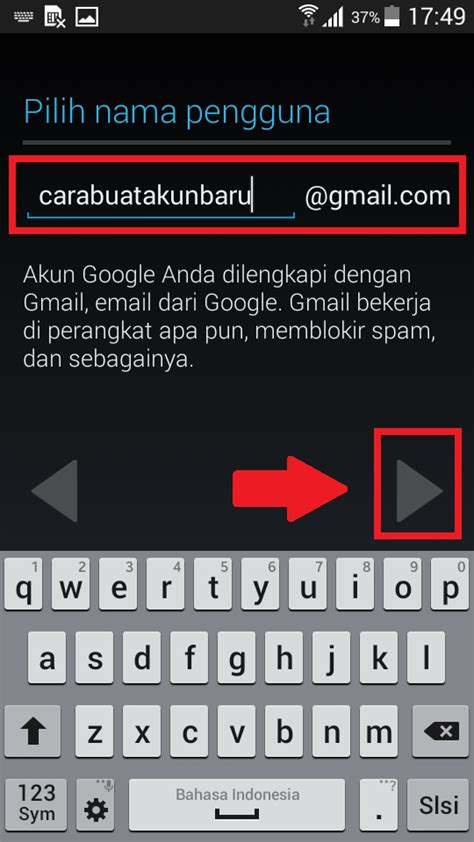 buat akun baru google play store cara buat akun google play store baru di hp android