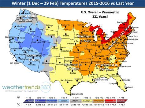 weather map usa december u s winter dec feb 2015 2016 weather roundup