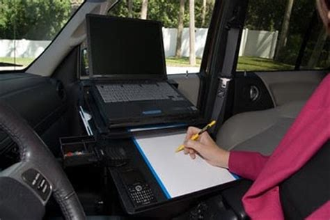 Mobile Office Car Desk Workstations Office Workstation Most Innovative Car Desk On The Market Today