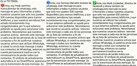 cadenas de whatsapp que asustan cadenas whatsapp preguntas imagui