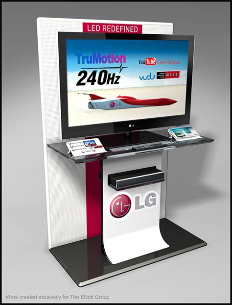 display tv lg tv interactive display