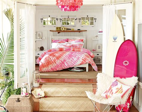 Pottery Barn White Bedroom Furniture Teenage Bedroom Ideas Hawaiian Hideaway Pbteen