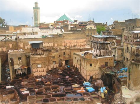 morocco city full picture fes city morocco