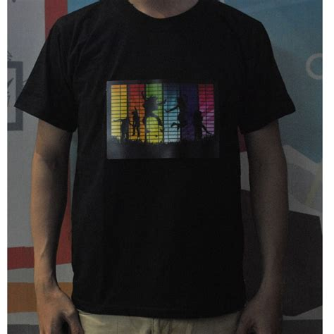 Led T Shirt Disco Model Size S Black Led T Shirt Disco Model Size S Black