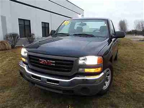 car owners manuals for sale 2006 gmc sierra 3500 electronic valve timing sell used 2006 gmc sierra regular cab w t v6 manual trans a c one owner in plainfield