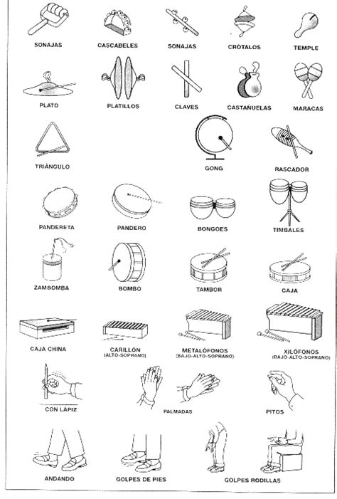 instrumentos musicales imagenes y nombres nombres y fotos de instrumentos musicales imagui