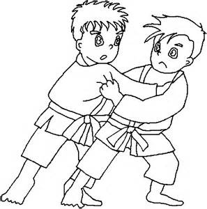 color pages judo coloring pages coloringpages1001