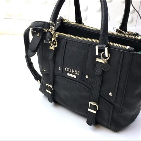 Other Designers Guess The With The Bag by 63 Guess Handbags Guess Multi Compartments Black