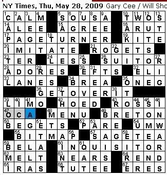 bench wear crossword rex parker does the nyt crossword puzzle thursday may 28