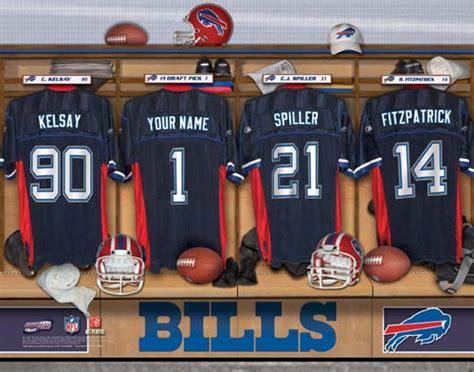 Bills Locker Room by Buffalo Bills Nfl Locker Room Print Buffalo Bills Nfl