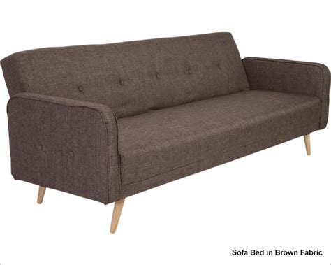 European Style Sofa Bed by Sofa Bed In Woven Fabric Bertram By Style Eu 06001