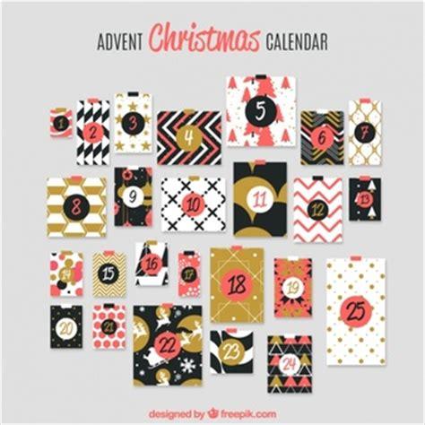 design kalender retro kerstmis tekens kalender vector gratis download