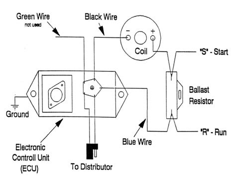 electronic ignition wiring diagram   mopar wiring