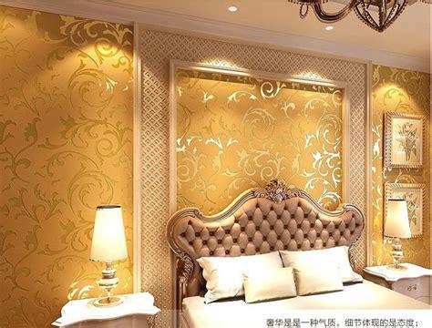 wholesale genuine victorian glitter wallpaper  silver