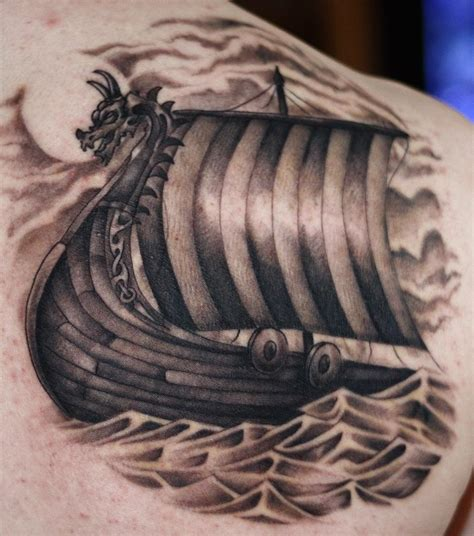 viking longship tattoo design viking tattoos designs ideas and meaning tattoos for you
