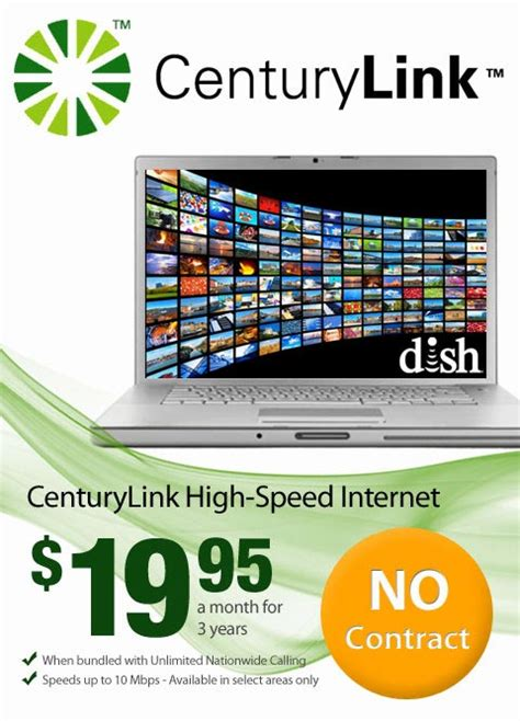 get centurylink high speed internet centurylink internet deals high speed internet with dish tv