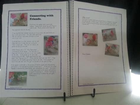 Digitally Produced Learning Story Stuck In Child S Portfolio Ece Documentation Pinterest Child Care Portfolio Templates