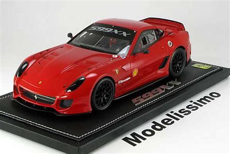 cars modellini ferrari 599 xx nerburgring record 2010 bbr diecast model