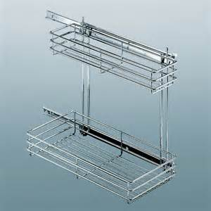 wire pull out shelves cabinet organizers hafele base cabinet undersink pull