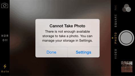 iphone cannot take photo iphone ipad fix cannot take photo error