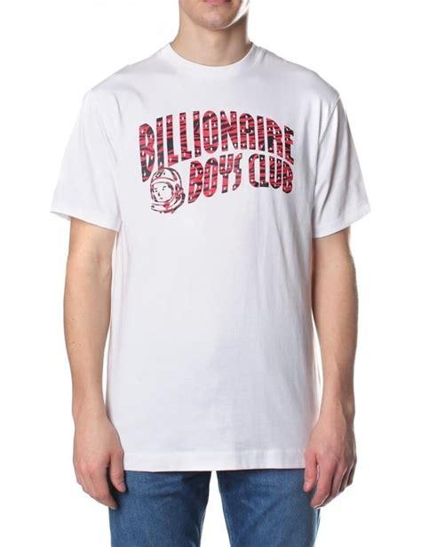 Tshirt Kaos Billionare Boys Club billionaire boys club zebra camo s arch logo t shirt