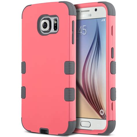 One Dluffy 0123 Casing For Galaxy S7 Hardcase 2d Casing Cover for samsung galaxy s6 edge hybrid shockproof rubber protective cover ebay
