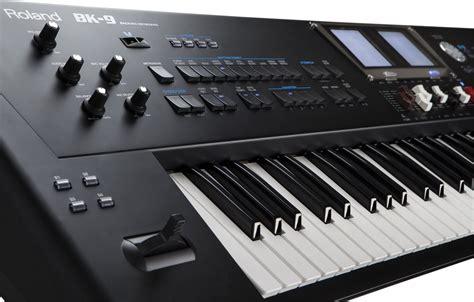 Keyboard Roland Bk 9 roland intros bk 9 backing keyboard synthtopia