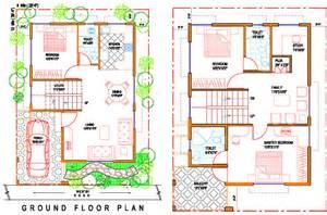 floor plan for 30x40 site 40 x 50 house floor plans