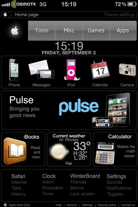 iphone 6 dreamboard themes also coming appleweb hd dreamboard theme redesigned