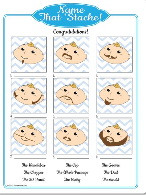 Free Printable Baby Shower Ideas by Printable Mustache Bash Baby Shower Ideas
