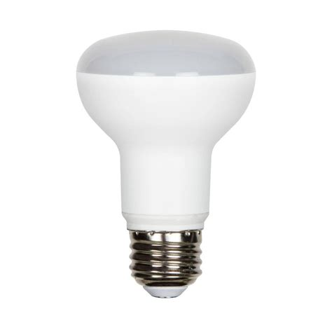 r20 bulb luminance 7 5w equivalent 2 700k r20 dimmable led light bulb l7520 1 the home depot